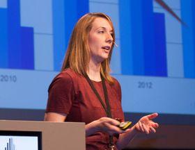 – Konkurransen blant indieselskapene er større enn noensinne. I 2009 var det rundt 300 utviklerselskap i Skandinavia. I 2013 var det over 700, sa Emmy Jonassen, grunnlegger av nettressursen Indie Game Girl som hjelper utviklere ut av startgropen.