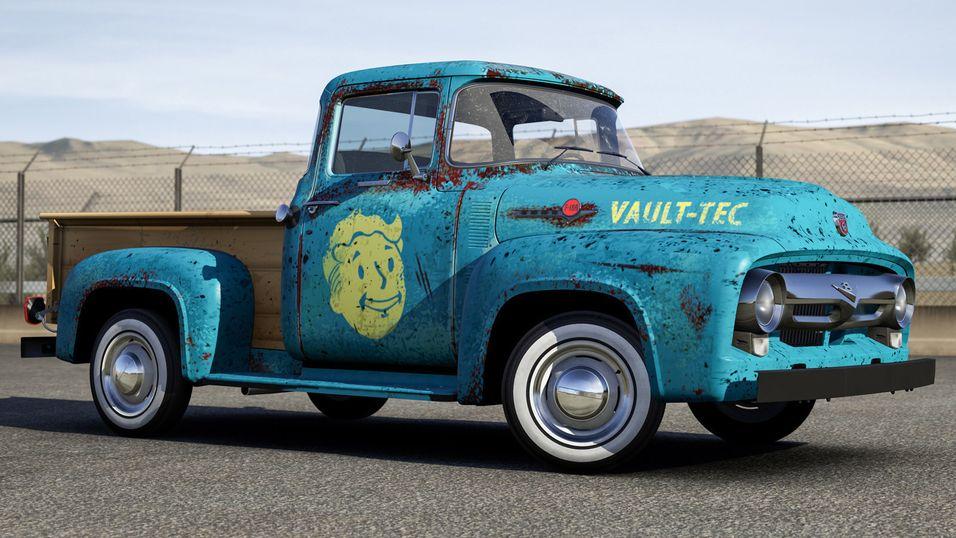 Prøvekjør Fallout 4-biler i Forza 6