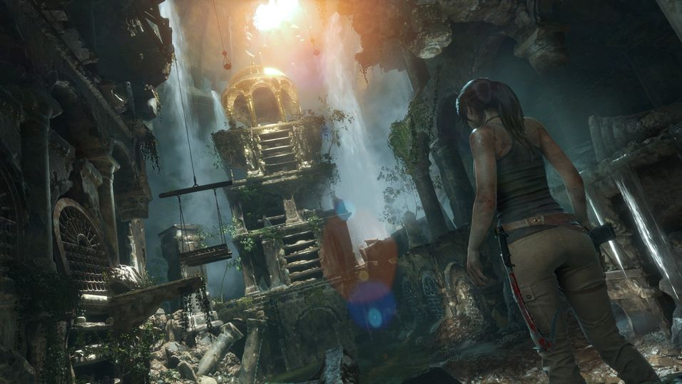 Rise of the Tomb Raider slippes på PC denne måneden