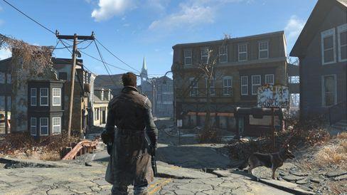 De grafiske forbedringene er godt merkbare, sammenlignet med Fallout 3.
