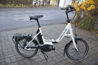 Hercules FoldR, sykkelen vi fikk teste i et par uker.