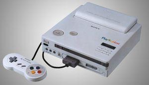 En litt annen variant, men fremdeles en tidlig PlayStation.