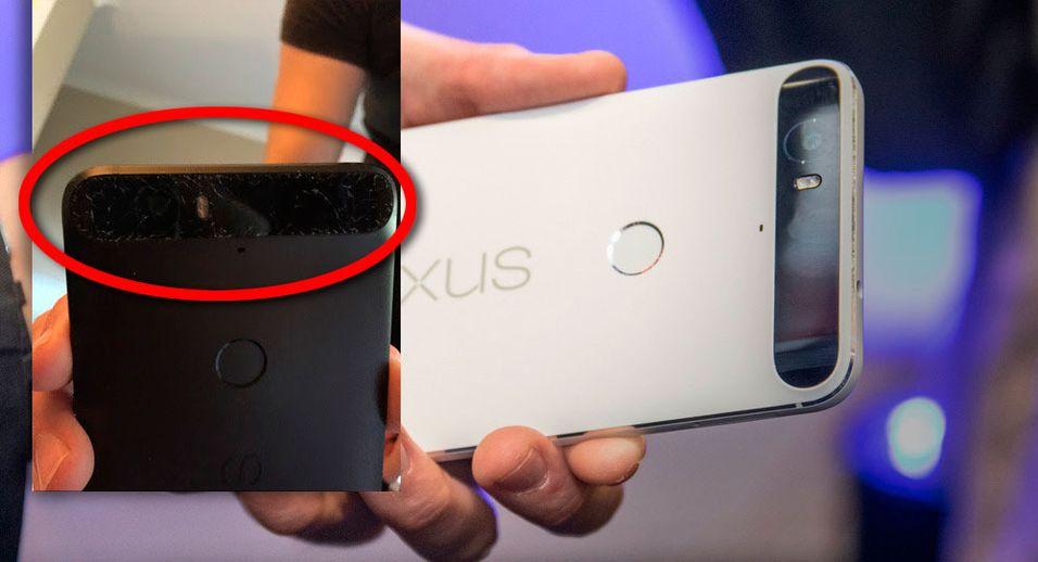 Vårt inntrykk av Nexus 6P var svært godt ved lansering. Enkelte brukere klager over at glasset på Nexus 6P sprekker av seg selv. Omfanget, og om dette faktisk er et problem, er uklart.