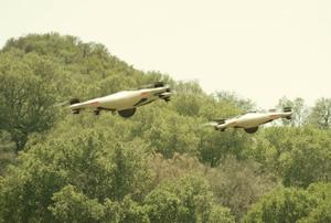 Slik ser den ennå mystiske Phantom X-konseptdronen ut.