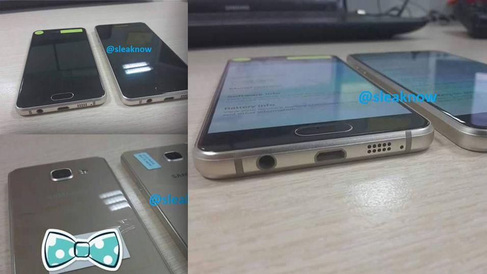 Her er flere av bildene av de nye telefonene.