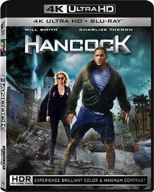 Hancock er en av filmene som blir lansert i det nye Blu-ray-formatet.