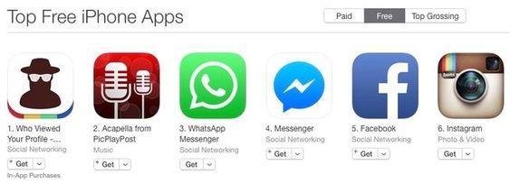 InstaAgent-appen (t.v.) skal nå være tatt ned fra både Apples App Store og Google Play.