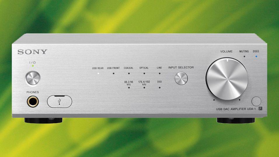 KONKURRANSE: Vinn en Sony USB-DAC-stereoforsterker til 6000,-