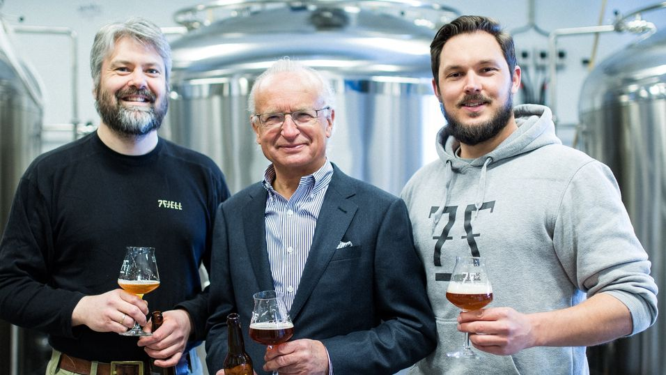Brygger øl med «bergenskaffe»