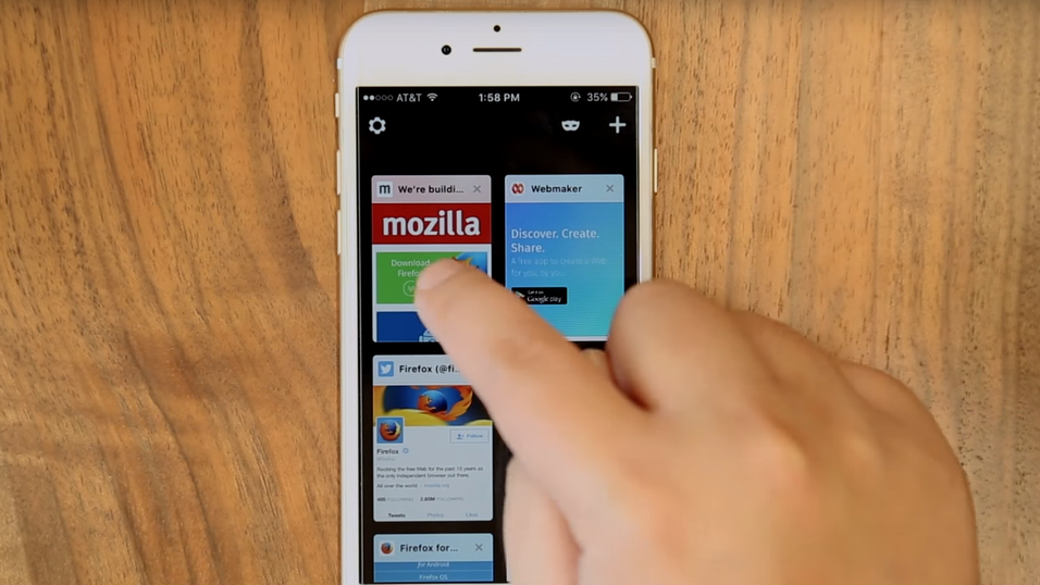Firefox har blitt bedre på iOS.