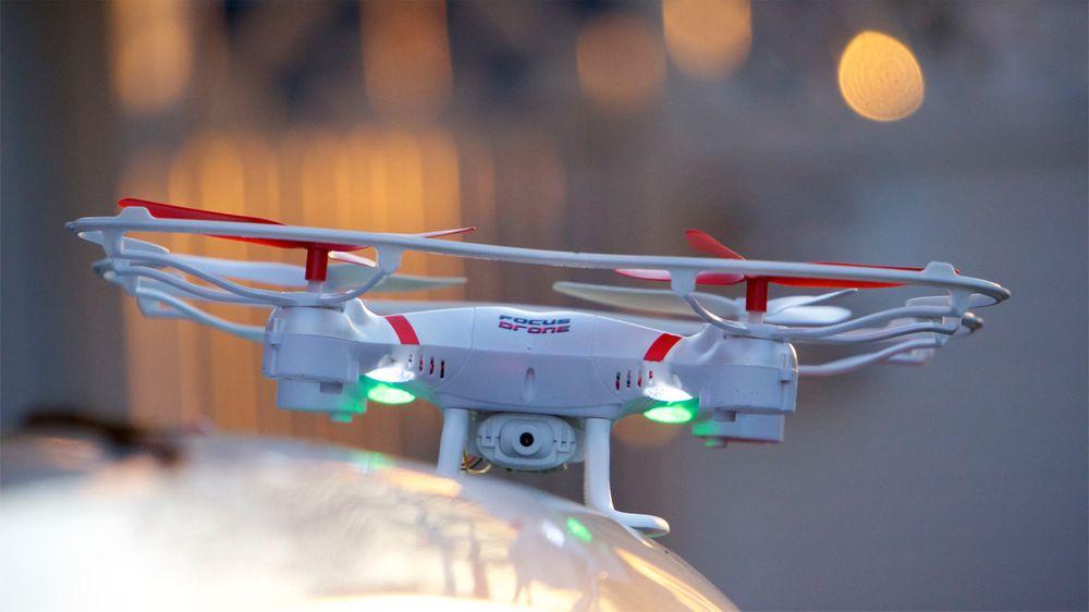 Focus Drone er en svær drone, og egner seg best ute.