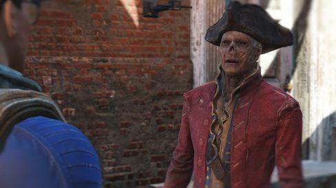 Du møter mange ulike figurer i Fallout 4, og da gjelder det å ha tunga rett i munnen.