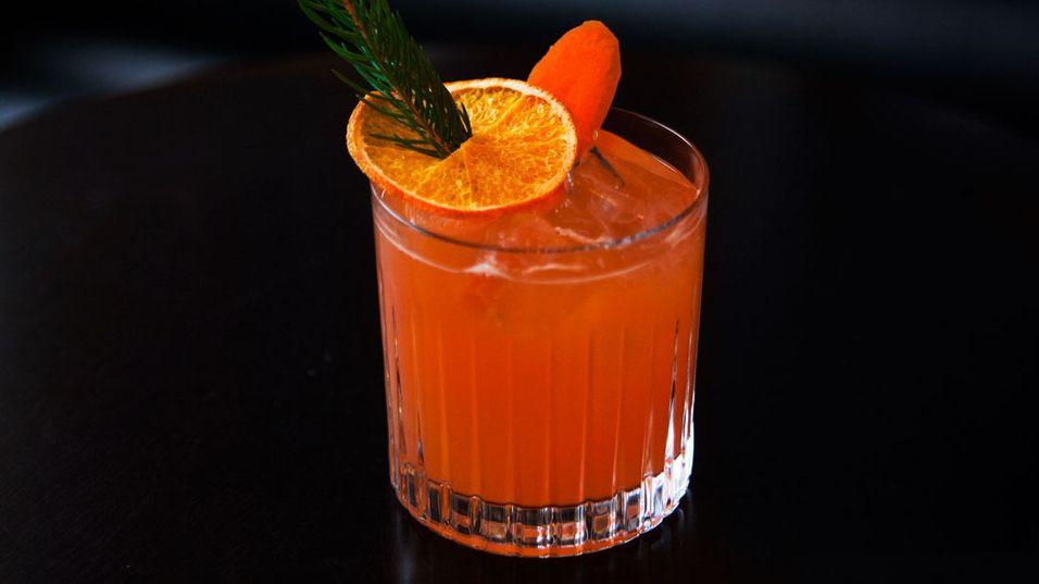 UKENS DRINK: En kald drink er også godt mot forkjølelse