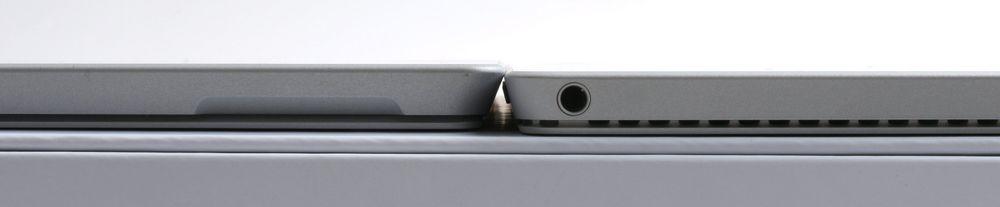 Forskjellen i tykkelse mellom Pro 3 og Pro 4 skal være på 0,76 millimeter.