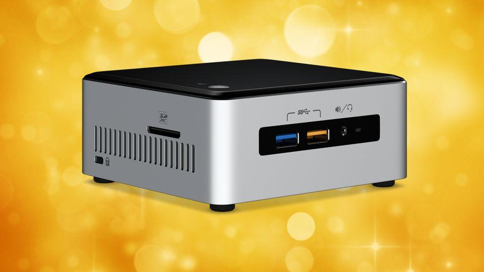 Intels nye NUC-maskin med Skylake-prosessorer.