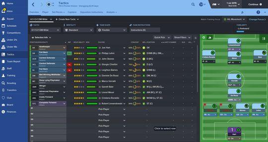 Hvis du ønsker å sette sammen ditt eget superlag så har Football Manager en egen modus akkurat til dette.