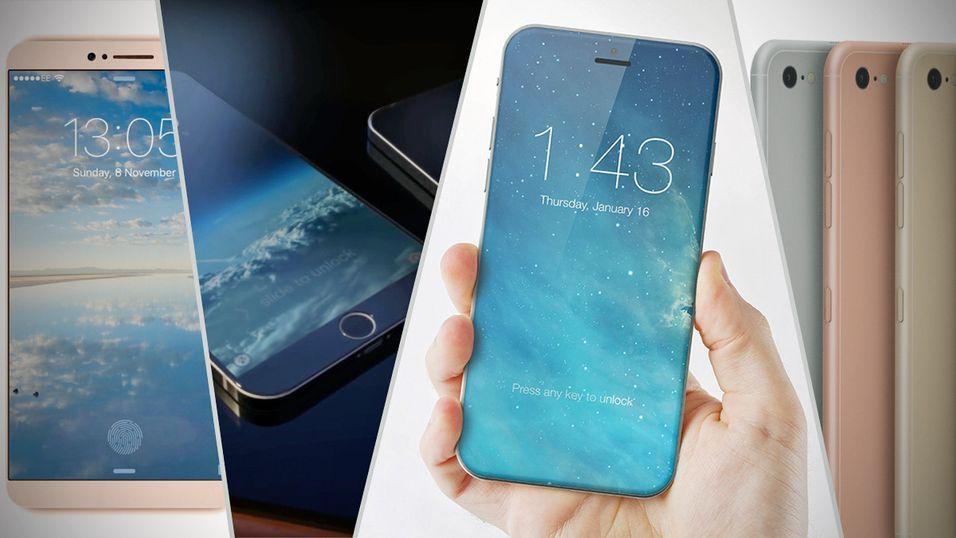 Vil én av disse få rett i hvordan iPhone 7 vil bli seende ut?
