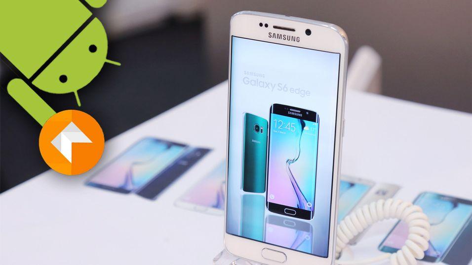 Android 6.0 Marshmallow kommer snart til flere Samsung-mobiler.
