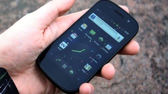 Slik så det ut da vi testet Nexus S her i Tek for 5 år siden.