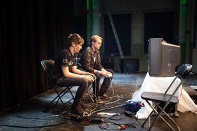 Bilde av finalen mellom Adam «Armada» Lindgren og William «Leffen» Hjelte fra Eclipse i fjor.