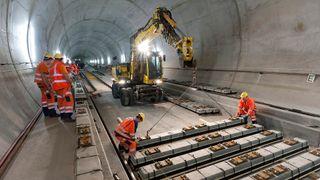 Det har tatt 16 år. Nå er verdens lengste jernbanetunnel ferdig