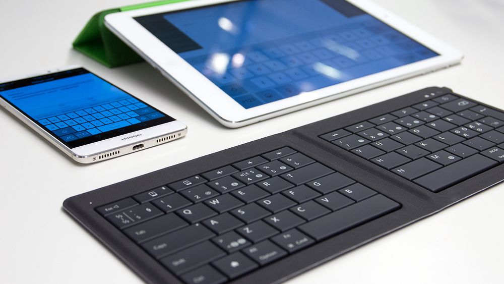 Microsoft Universal Foldable Keyboard.