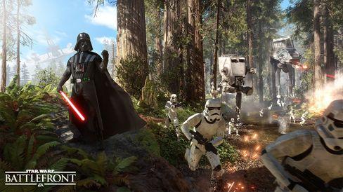 Darth Vader er selvskreven på gjestelisten.