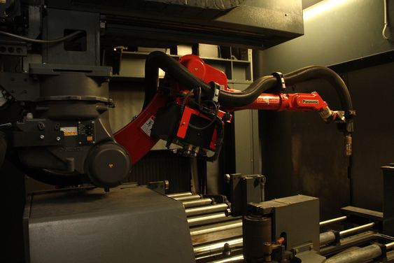 EMV Construction, plasmakutter for stålbjelker levert av nederlandske Voortman