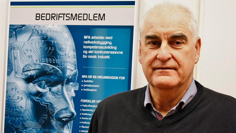 Lars Annfinn Ekornsæter, administrerende direktør i NFA, mener automatisering og menneskelig samhandling blir viktig for morgendagens vinnerbedrifter. Foto: nfa