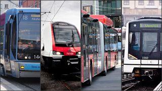 Her er de fire alternativene til ny kollektivløsning i Oslo
