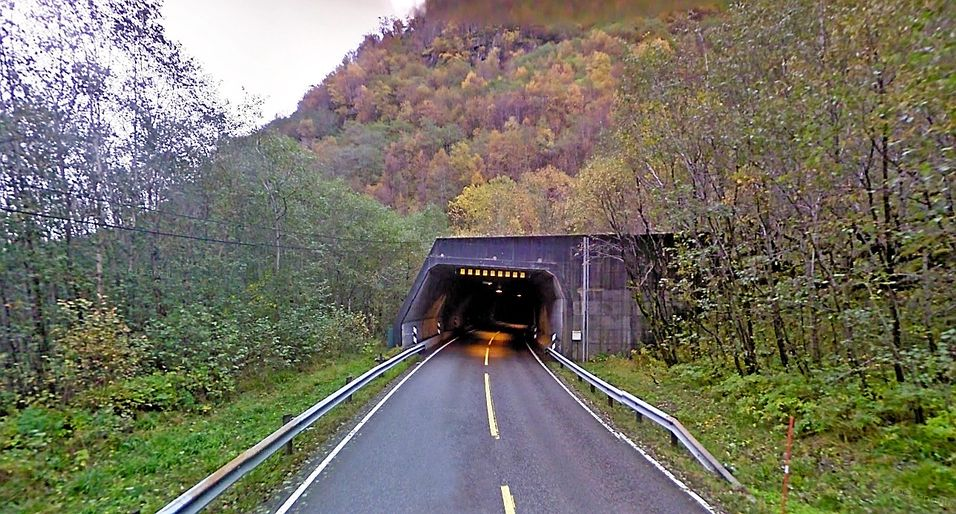 Høyangertunnelen stengt