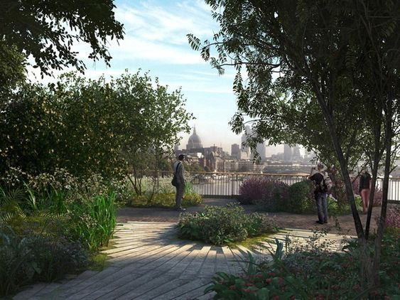Om noen år kan en av byturene i London se omtrent slik ut.  Ill: Arup/Arup/Heatherwick Studios