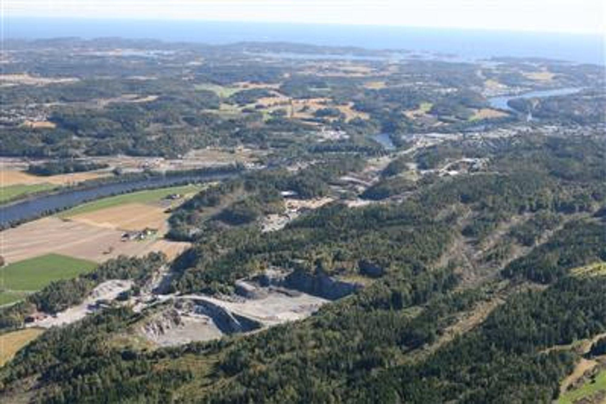 For andre gang på kort tid kjøper NCC Roads et nytt pukkverk, denne gang i Larvik.