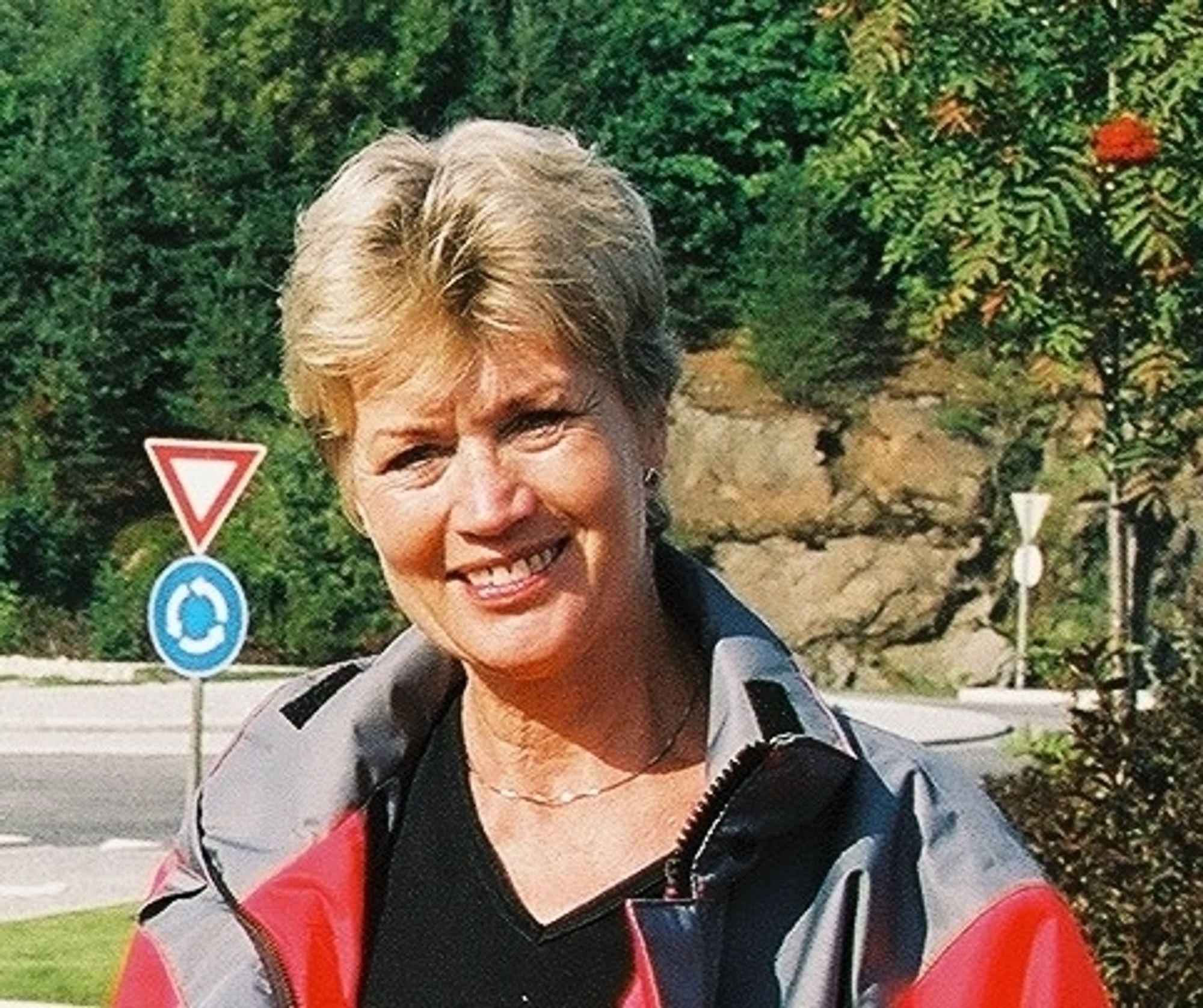 Distriktsvegsjef i Aust-Agder Kirsten Lindeberg
