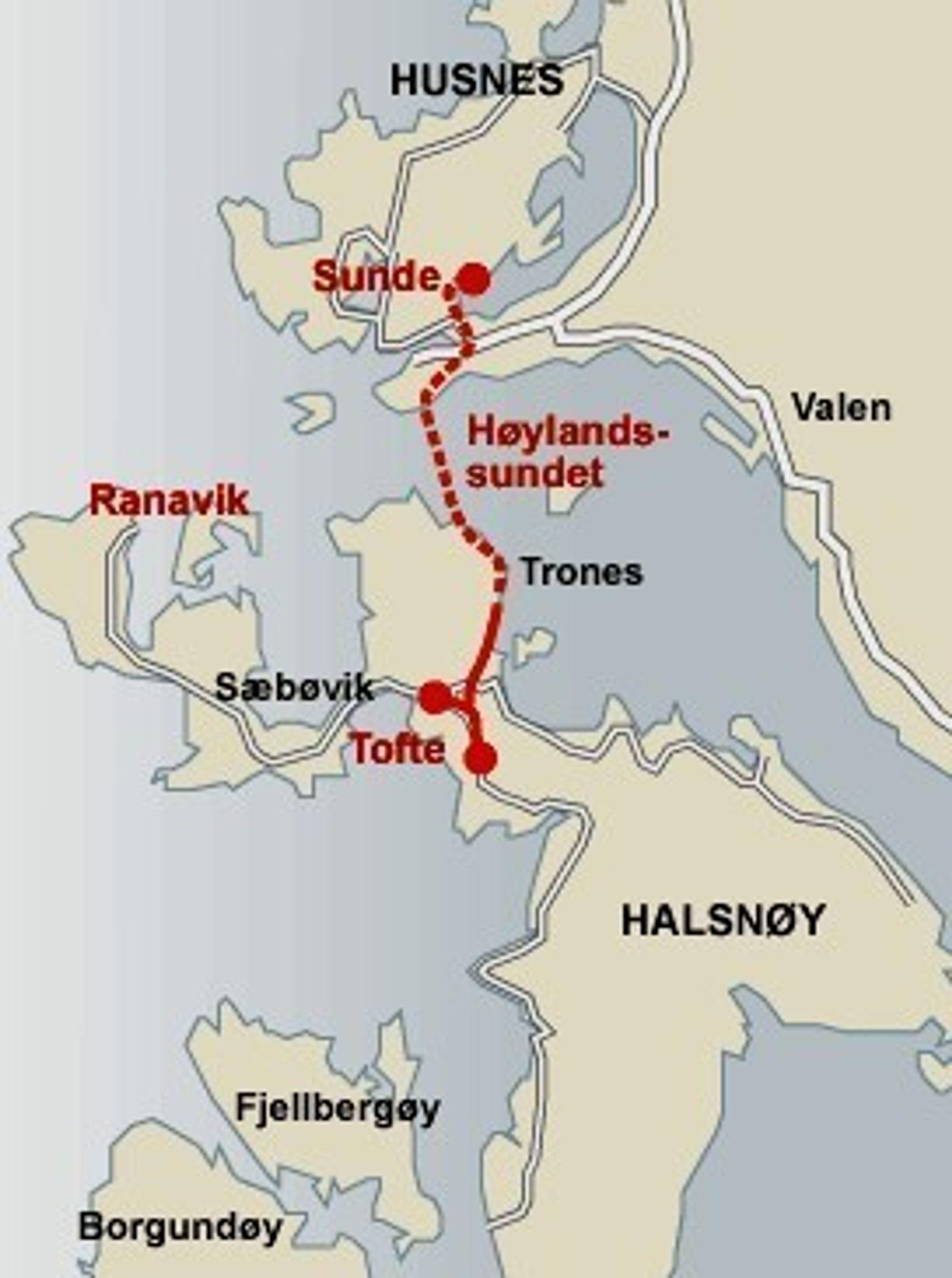 Halsnøytunnelen skulle egentlig åpnes sommeren neste år, men prosjektet er forsert og blir klart for bruk allerede i februar neste år. (Ill.: Statens Vegvesen)