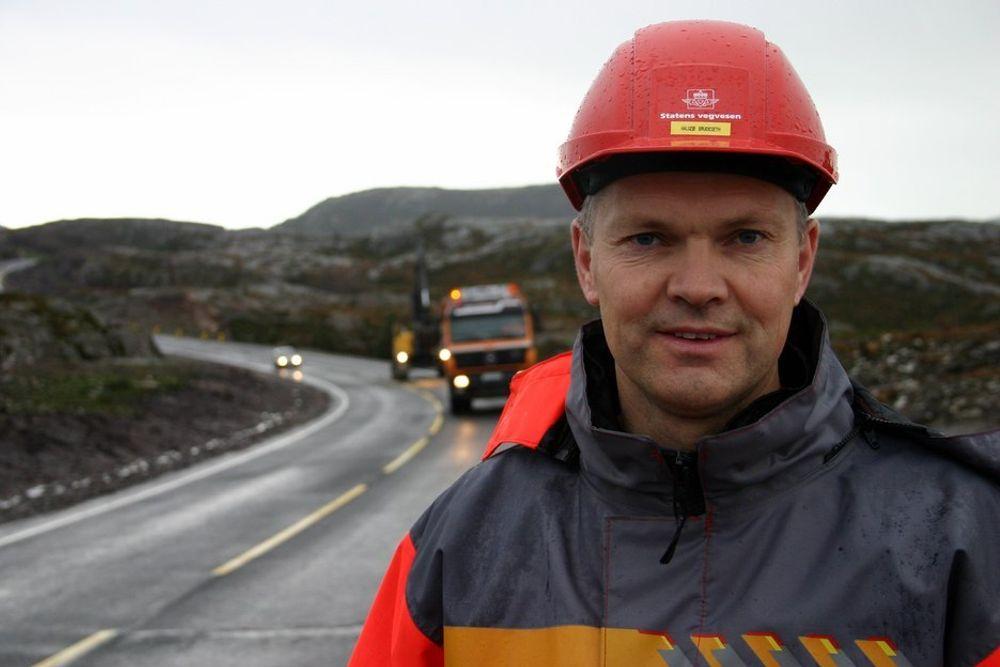 Prosjektleder Halgeir Brudeseth har hatt store problemer å stri med under byggingen av Atlanterhavstunnelen mellom kristiansund og Averøy. Men problemer er til for å løses, mener han.