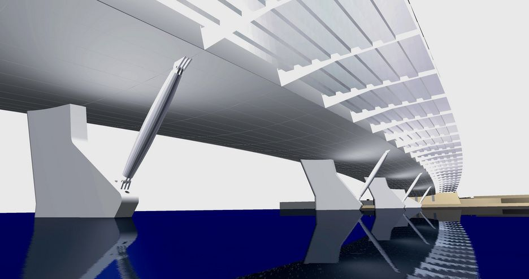 Øvre Sund bru er resultatet av en arkitektkonkurranse. Det er ikke aktuelt å gjøre forandringer på vinerutkastet. (Ill.: BFS Arkitekter)