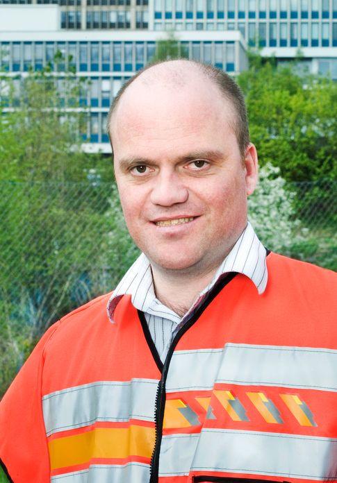 Nils Gunnar Røhrsveen, fungerende byggeleder for Statens vegvesen på E20 ¿ Lørentunnelen i Oslo