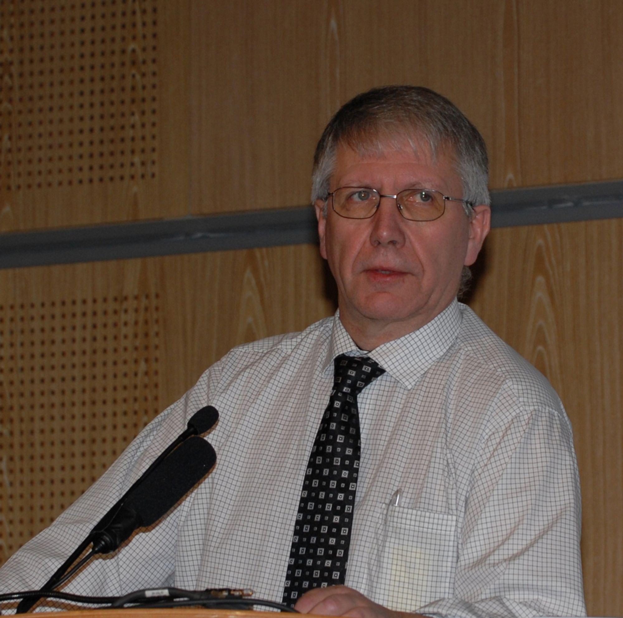 - Vi er klar til å øke aktiviteten betydelig, sier vegdirektør Terje Moe Gustavsen