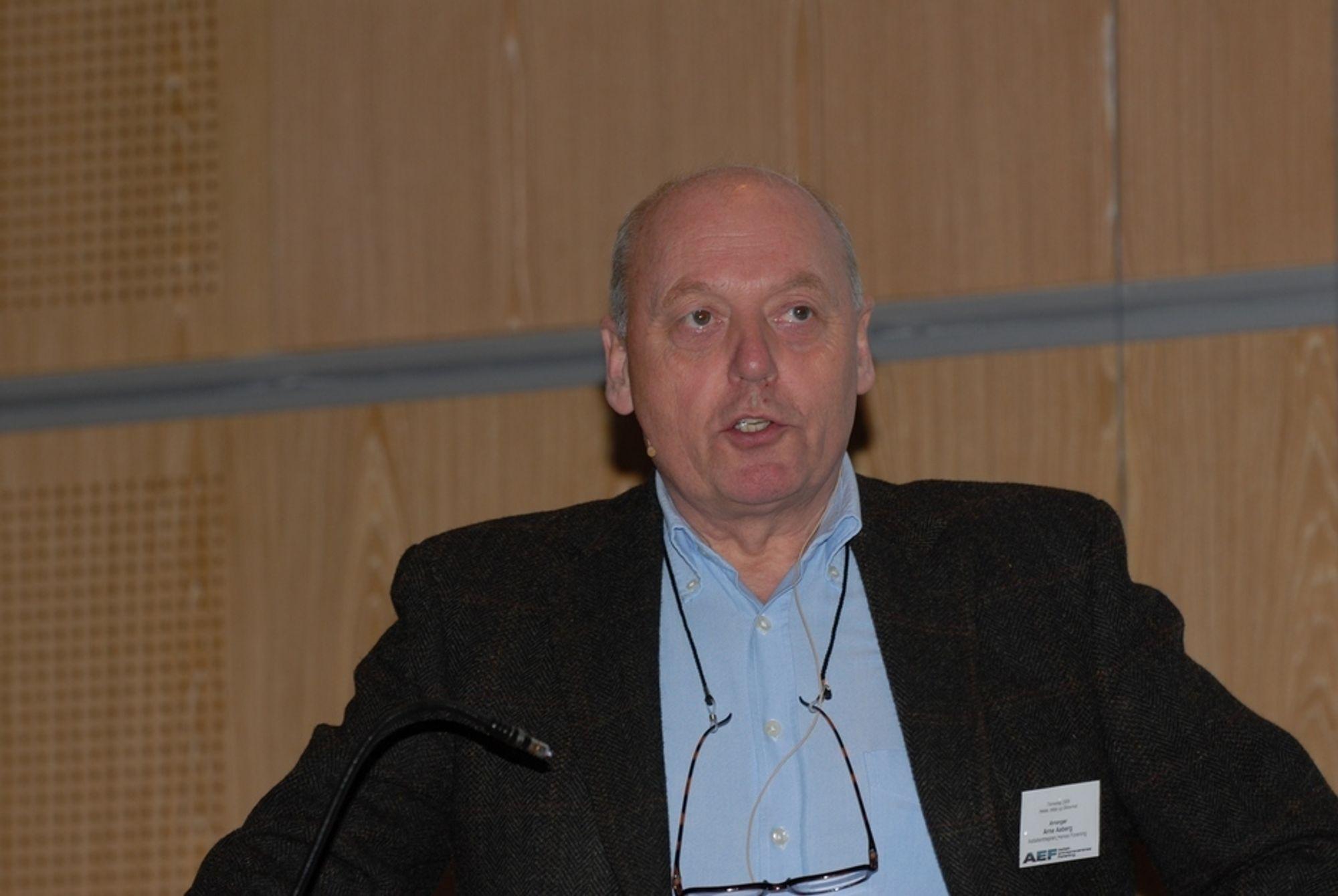 Direktør for Asfaltentreprenørenes Forening, Arne Aaberg.
