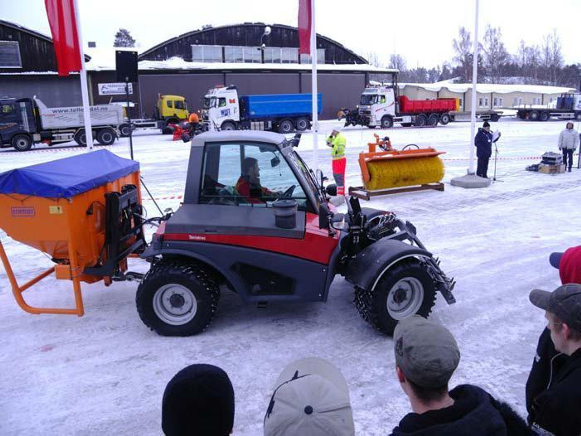 Klar for vinterdager i Østersund