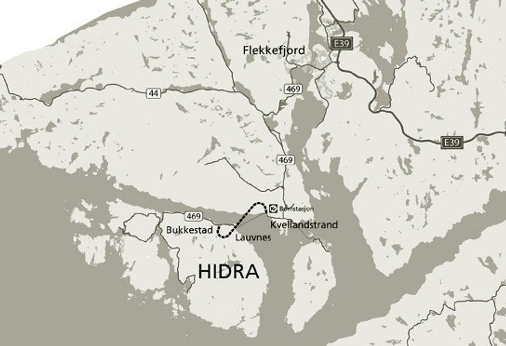 Oppstart for Hidra-tunnel våren 2011
