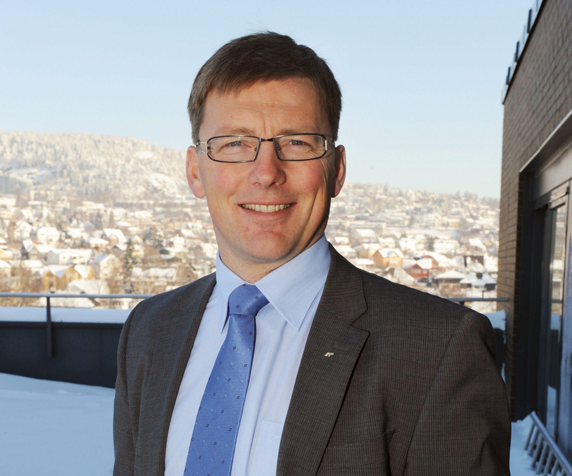 Fremtidsbildet er fortsatt preget av usikkerhet,, sier Pål Egil Rønn, konsernsjef i AF Gruppen.