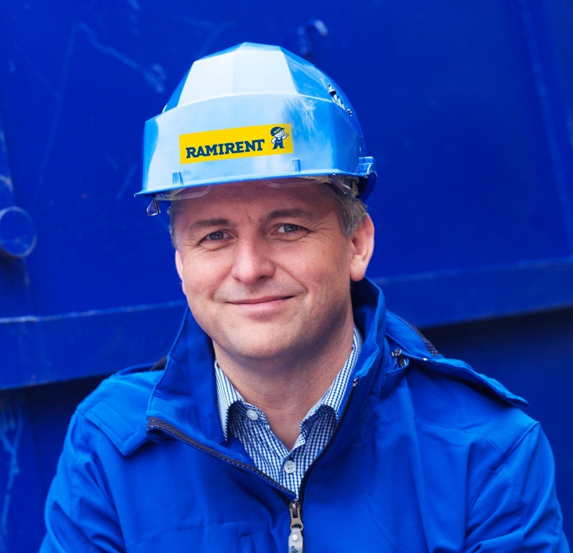 Administrerende direktør Eivind Bøe i Ramirent Norge AS.