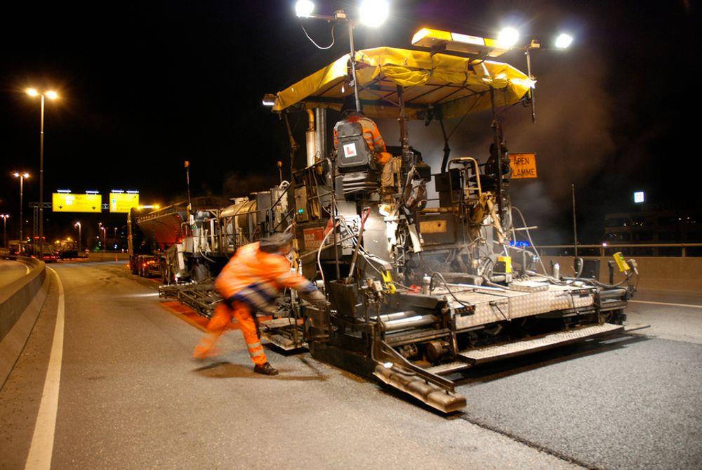 Fra 100 til 25 mill. kr til asfalt i Oslo