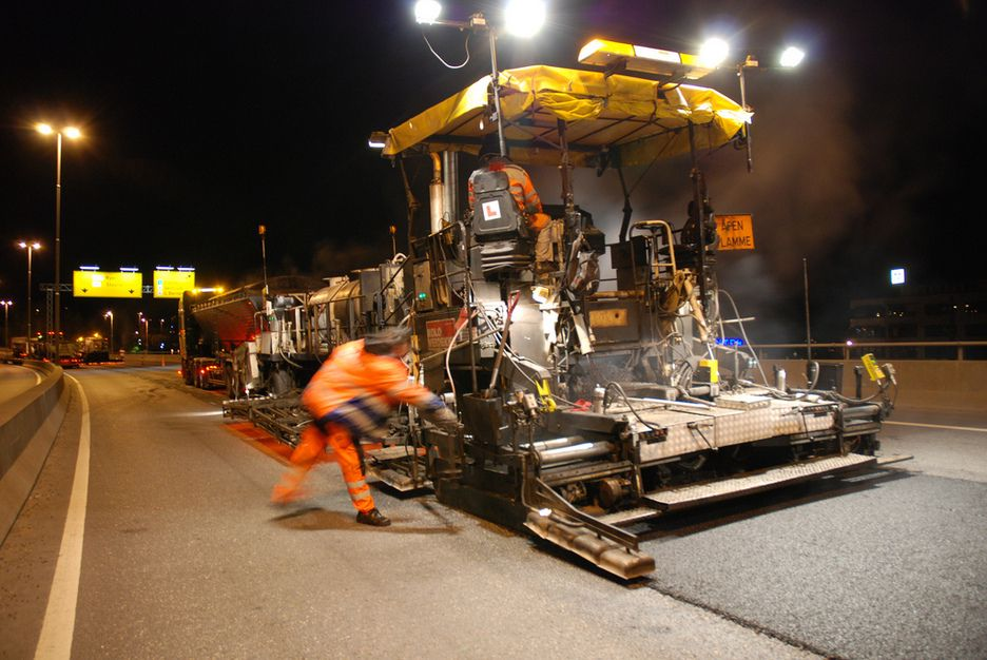 Årets asfaltkontrakter ut som planlagt