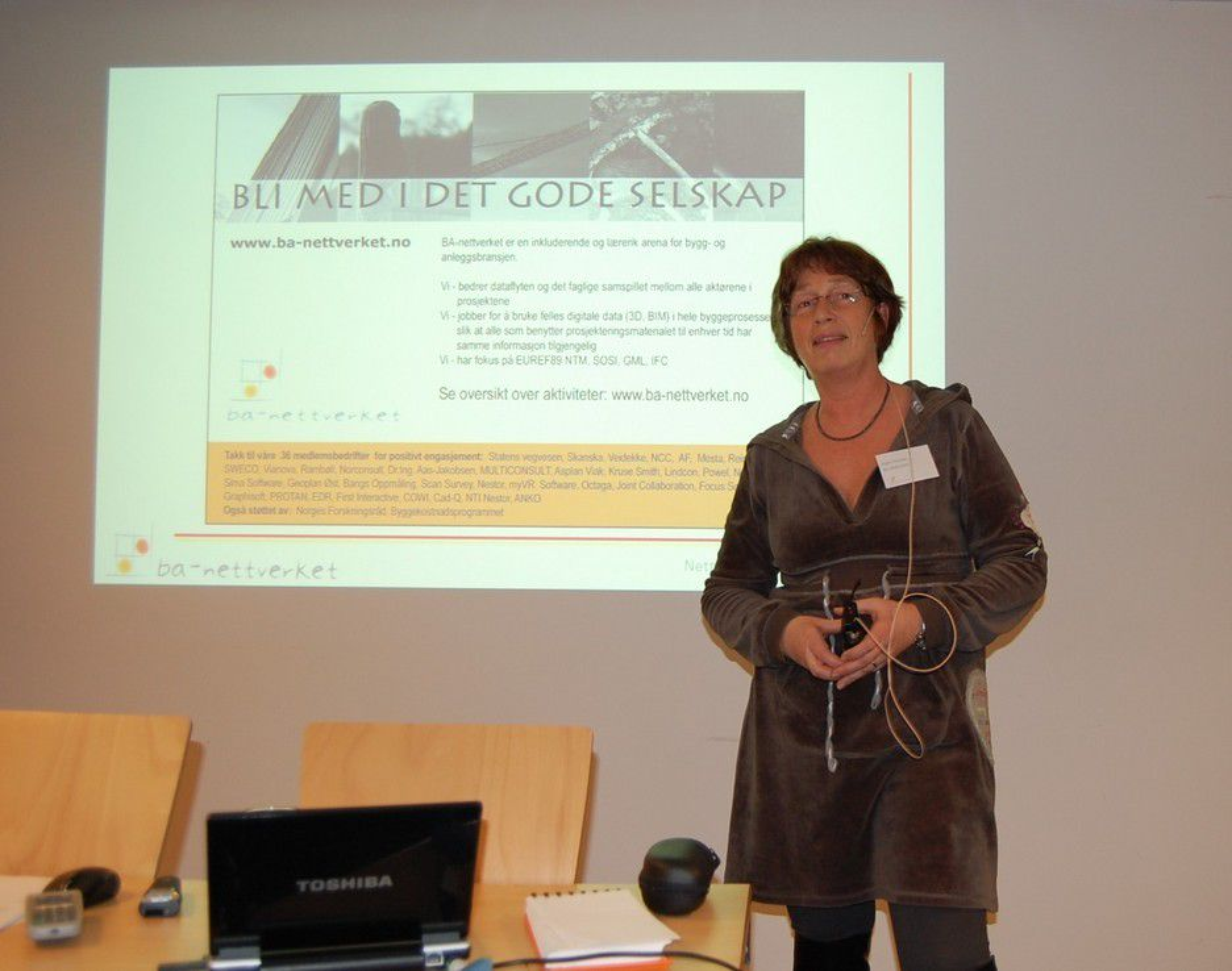 BA-Nettverkets gründer og leder Inger Hokstad.