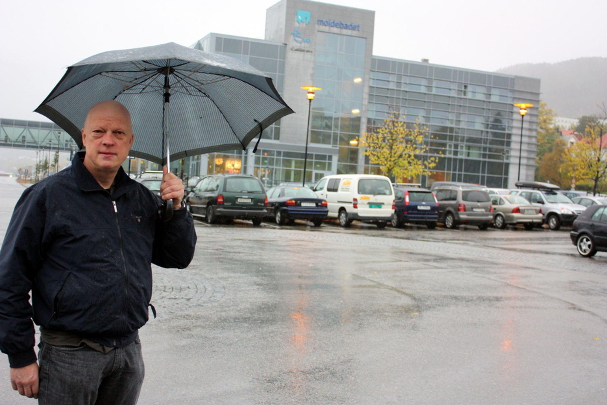 Daglig leder Andreas Ringdal i Christie & Opsahl fikk hele anbudsjobben spolert på grunn av forsinkelse i Posten.