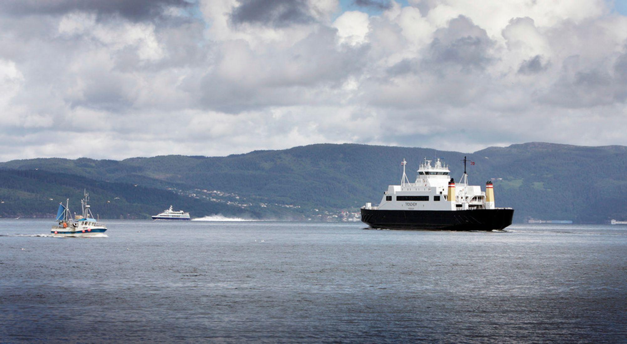 Innkrevingen av bompenger skal blant annet skje på denne fergestrekningen mellom  Flakk  og Rørvik.