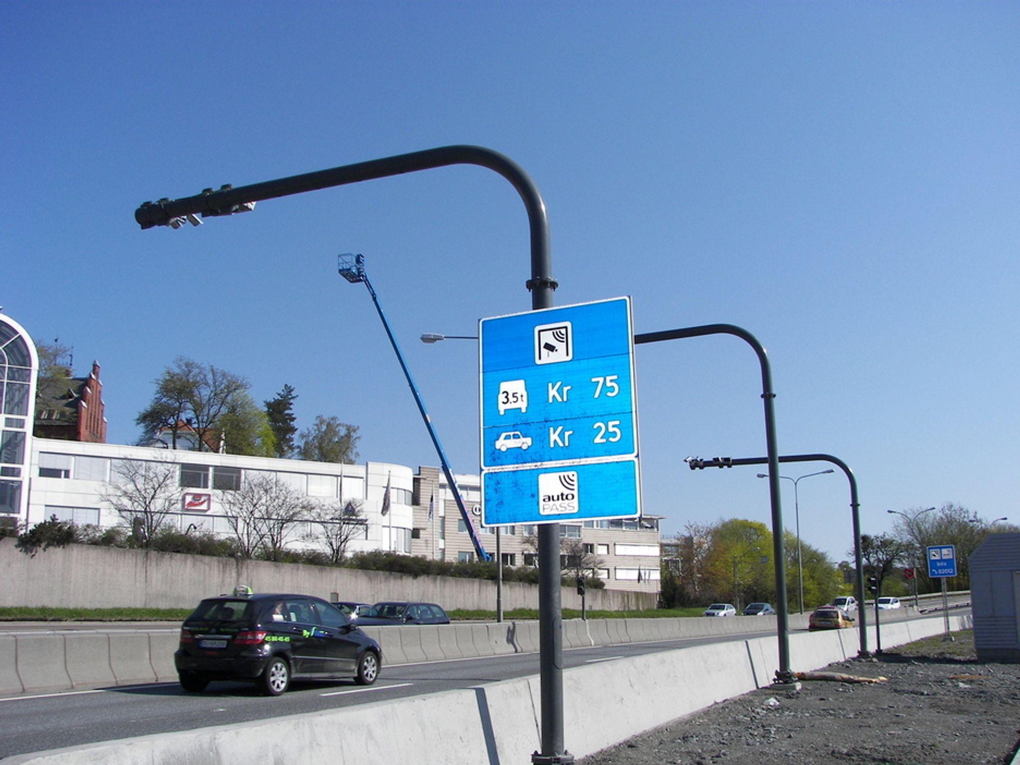 Vedlikeholder Autopass-anleggene i Oslo-området